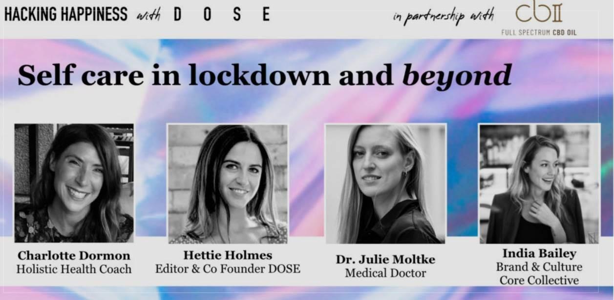 CBII Dose self care in lockdown podcast